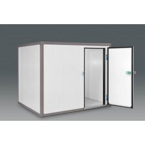 Cámaras frigoríficas modulares que están compuestas por paneles modulares y desmontables fabricados de tipo sandwich de poliuretano. Facilidad de aumentar las dimensiones de la cámara ya instalada.
