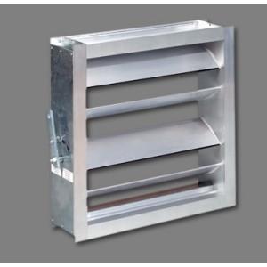 Estas compuertas de regulación han sido diseñadas para su utilización en la regulación del caudal y de la presión, en instalaciones de aire condicionado, ventilación y calefacción.